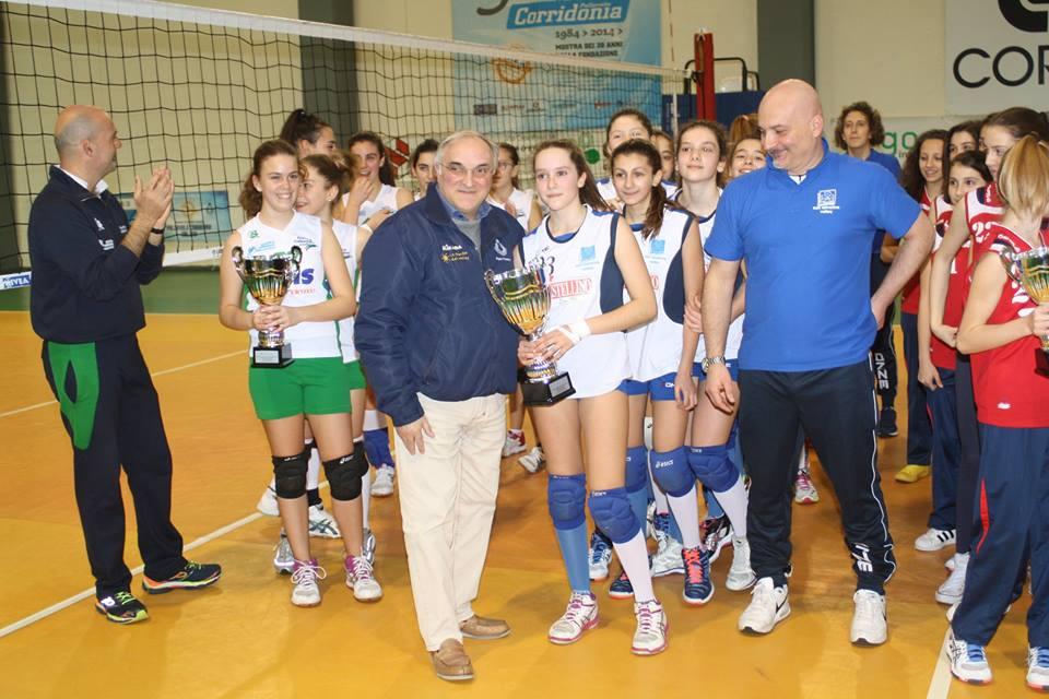 L'under 13 femminile si laurea campione provinciale!